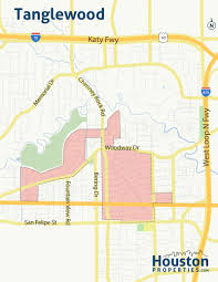 El Paso Zip Code Map Tanglewood Houston Maps And Neighborhood Guide By Paige Martin