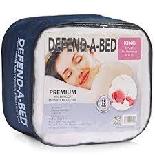 Home Design Classic Mattress Pad Amazon Com Classic Brands Defend A Bed Premium Waterproof