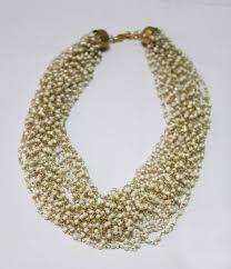 Buy Alankruthi Pearl Necklace Set Buy White Imitation Pearl Necklace Set With Bracelet U0026 Earrings Online