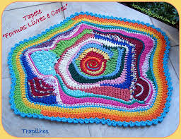 Crochet A Rag Rug Rag Rug Crochet Tutorial Best Decor Things