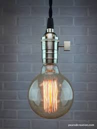 Hanging Light Fixture by Bare Bulb Pendant Lamp Edison Bulb Ceiling Lamp Industrial
