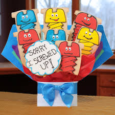 cookie arrangements cookie bouquet arrangements all about gifts baskets