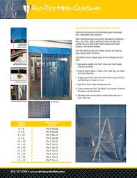10x10 garage door mesh curtains u0026 bug screens for industrial garage doors