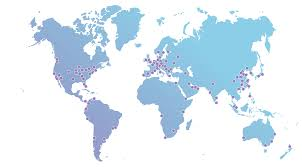 Where Is Greece On The Map by Our Anycast Network Map Cloudflare