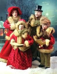 christmas carolers christmas carolers figurines marshalldesign co
