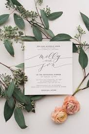 wedding invitation card best 25 calligraphy wedding invitations ideas on