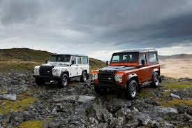 land rover defender 2019 land rover defender fire u0026 ice editions photo gallery autoblog