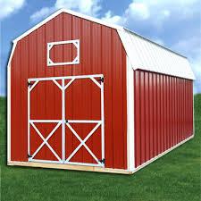 Z Barn Simpco Portable Buildings Z Metal Derksen Lofted Barn Utility