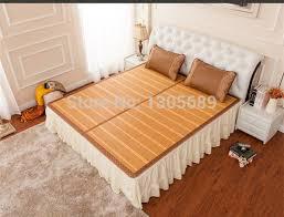 Folding Cing Bed Bamboo Mat Folding Faced Mats Size King Size Rattan