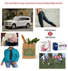 The fairfield county connecticut stay at home mom starter pack