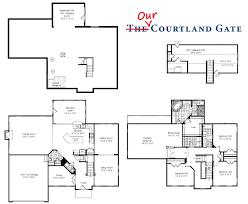 floorplan v1 6 sm ryan home rome model floor plan particular lot