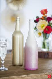 wine bottle wedding centerpieces diy ombre wine bottle wedding table centerpieces