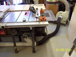 router table dust collection table saw router table combined woodworking talk woodworkers forum
