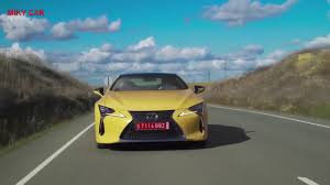 lexus lc grand tour 2018 lexus lc 500 first drive review youtube