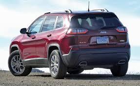 jeep cherokee back first drive 2019 jeep cherokee ny daily news