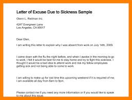 Excuse Letter In exle of excuse letter for being absent in school tomlaverty net