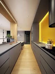 modern kitchen design yellow 25 bright grey and yellow kitchen decor ideas digsdigs
