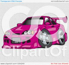 nissan pink clipart of a pink nissan skyline gt r sports car royalty free