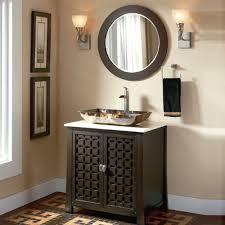 Adelina  Inch Contemporary Vessel Sink Bathroom Vanity Espresso - Bathroom vanity for vessel sink