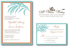 Wedding Invitations And Rsvp Cards Together Orange Wedding Invitation U2013 A Vibrant Wedding
