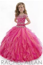 2015 most beautiful beaded crystal ball gowns girls pageant dress