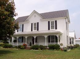 Colonial House With Farmers Porch Properties Capital Area Preservation