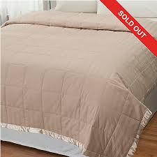 macy u0027s charter club cotton damask down alternative blanket
