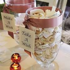 wedding wishes jar black and white candy buffet label candy buffet