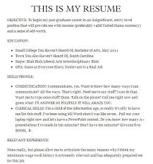 Resume For Mall Jobs The 25 Funniest Job Resumes Of All Time Worldwideinterweb