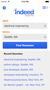 resume search indeed search resumes resume templates