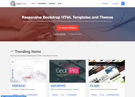 7 best bootstrap marketplaces to sell bootstrap templates