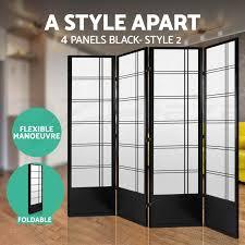 6 panel room divider 3 4 6 panel room divider solid wooden timber natural fold screen