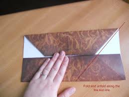 How To Fold Envelope How To Make An Origami Gift Card Envelope