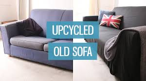 How To Make Furniture Look Rustic by Old Sofa Makeover U2013 Upcycling Diy Charlimarietv Youtube