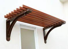 B C Awnings Timberline Series Louver Canopy We002 Wood Grain Finishing