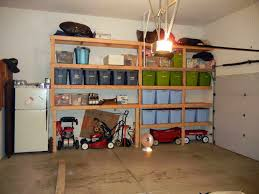 Simple Wooden Shelf Plans by Diy Garage Shelves With Lights Design Wow I U0027m Kinda Jealous Of