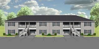 8 unit apartment building plans 8 unit apartment plan j778 8