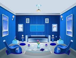 blue interior design living room color scheme youtube new blue