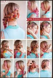 tutorial rambut waterfall model rambut kepang modern