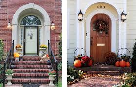 Fall Porch Decorating Ideas Fall Seasonal Decorating Ideas For Front Porch Outdoortheme Com