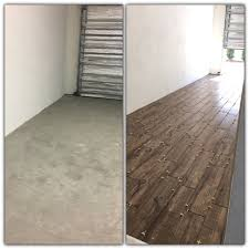 fired hickory pecan wood look tile garage floor fave house ideas