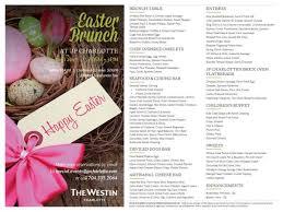 Easter Brunch Buffet Menu by Easter Brunch Update Menus And Options