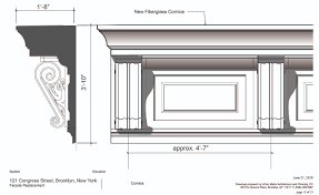 Fiberglass Cornice Manufacturers Landmarks Oks Façade Restoration For Residential Building At 121