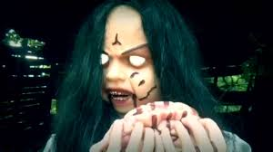 eaten alive spirit halloween rosemary zombie animated prop 2016 11 12