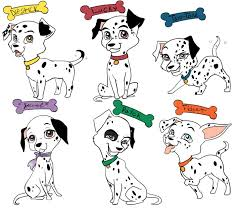 cute names for dalmatian puppy from 101 dalmatians yes