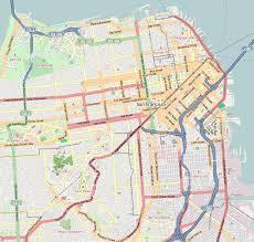 san francisco map painting lower haight san francisco