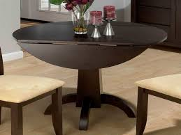 drop leaf tables for small spaces awesome with deep chocolate drop leaf table with beige cushioned