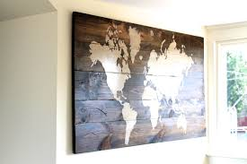 Map Home Decor Wall Decoration Wall Art Map Lovely Home Decoration And