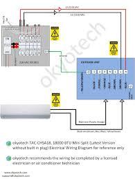 mini split wiring diagram kwikpik me