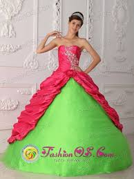 coral pink quinceanera dresses 2013 palencia guatemala coral and green appliques and